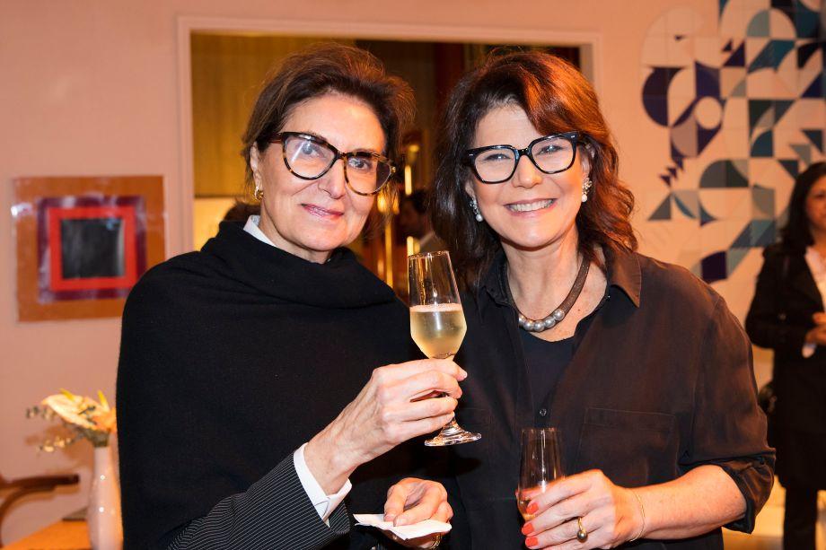 Cristina Ferraz e Paula Neder