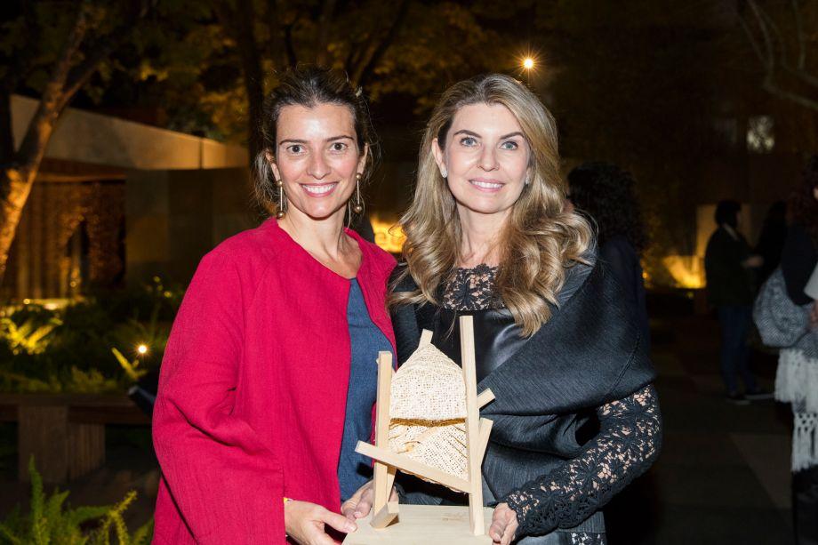 Flavia Pardini e Sandra Moura