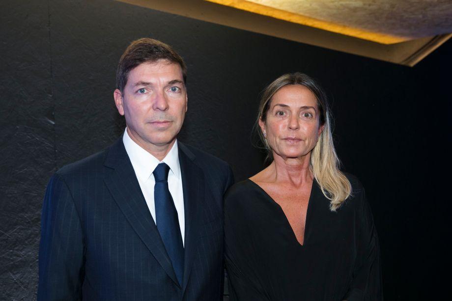 Josué Gomes da Silva e esposa