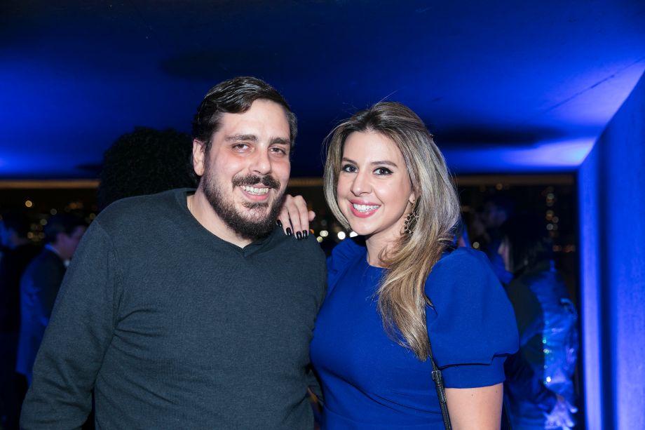 Fabio Izaias e Bia Abreu