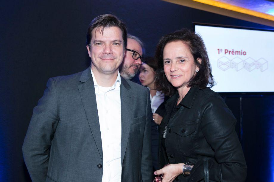 Fabio Gallo e Patricia Quentel