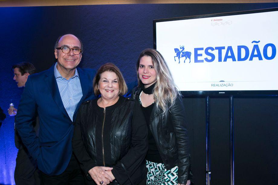 Arnaldo Danemberg, Anna Ramalho e Paloma Danemberg