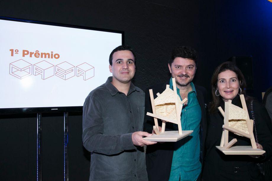 Gil Trovo, Paulo Alves e Celia Trovo