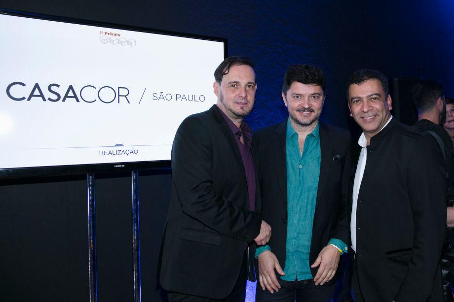 Marcelo Lima, Paulo Alves e Pedro Ariel Santana