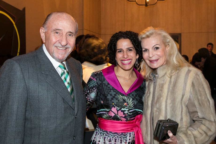 Luiz Arduin, Sandra Picciotto e Liliana Arduin