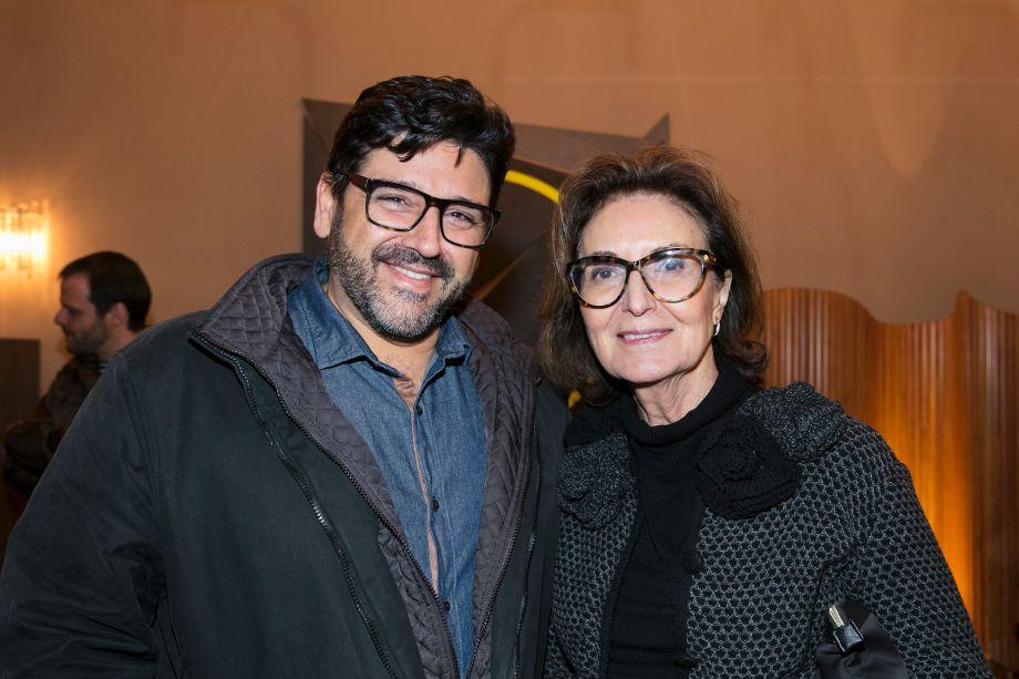 Darlan Firmato e Cristina Ferraz