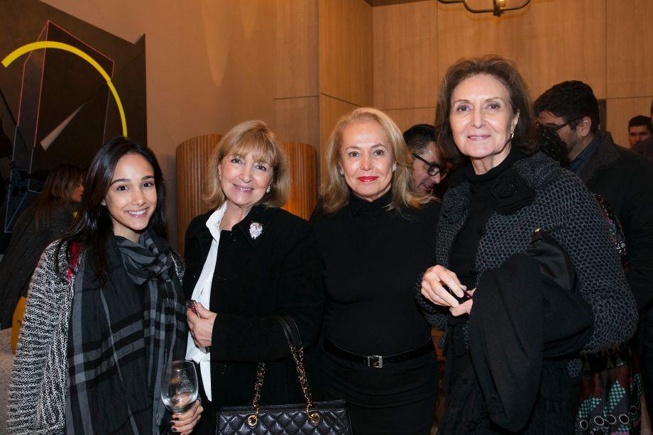 Vanessa Ireno, Lucy Amicon, NeivaRizzotto e Cristina Ferraz