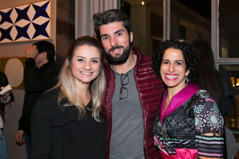 Barbara Camacho, Renato Andrade e Sandra Picciotto