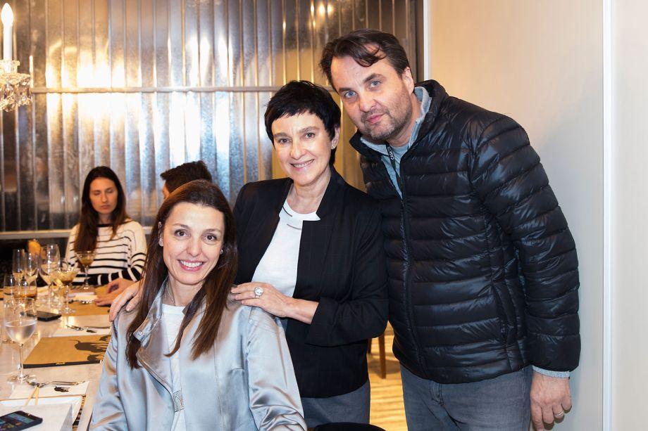 Cris Bava, Livia Pedreira e Lalo Zanini