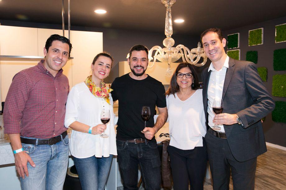 João Paulo Campos, Carolina Lopes, Bruno Taddeucci, Lourdes Bottura e Thiago Bassetto