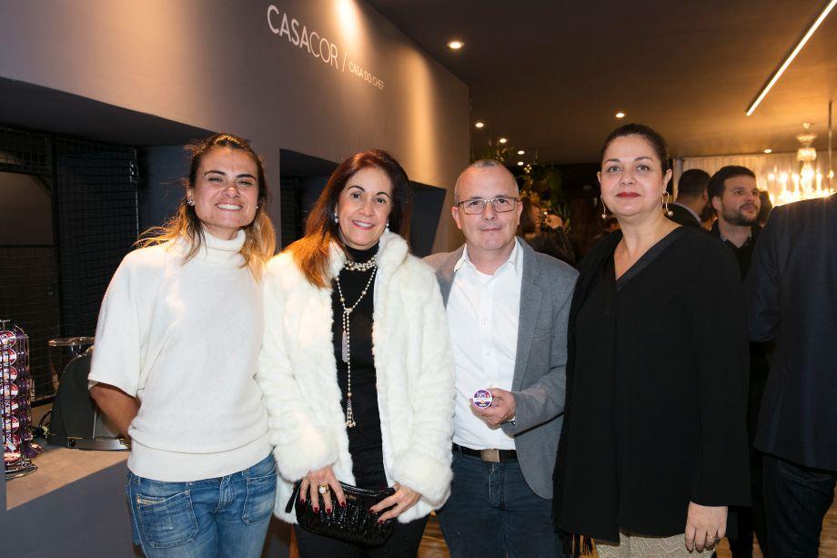 Rubia Chedid, Cynthia Marzola, André Carvalho e Patrícia Marra