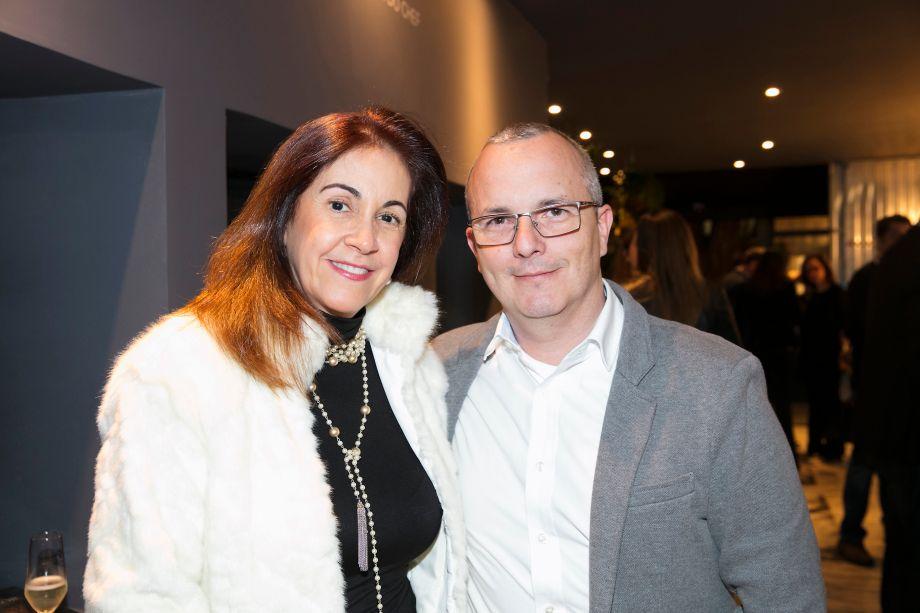 Cynthia Marzola e André Carvalho
