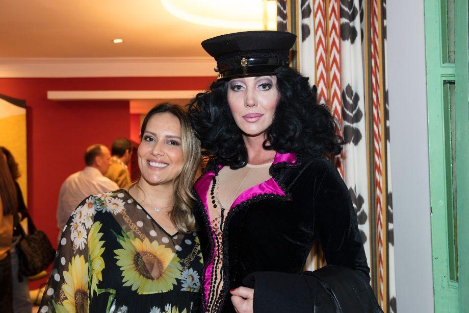 Clariça Lima e Paulete Pink