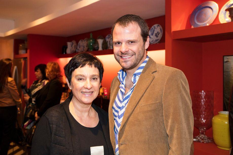 Livia Pedreira e Luiz Otávio Debeus