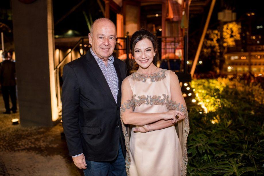 Angelo Oswaldo e Juliana Grillo