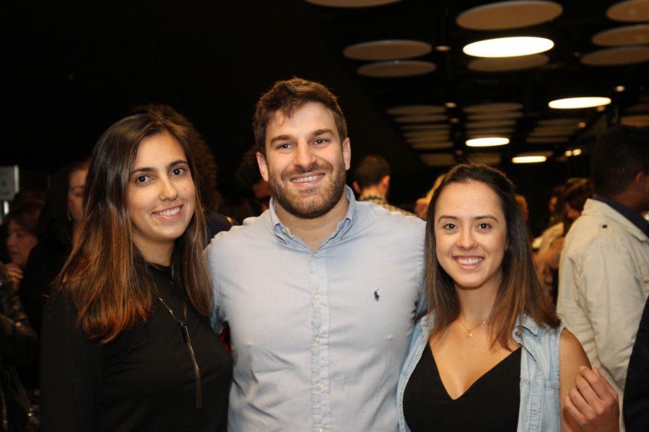 Duda Millington, Guilherme Gabriel e Gabriela Schinzel