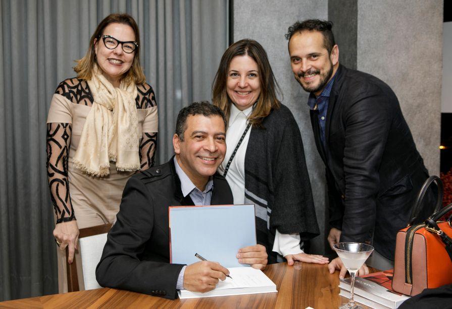 Isabela Coutinho, Pedro Ariel, Carla Cavalcante, Breno Lago