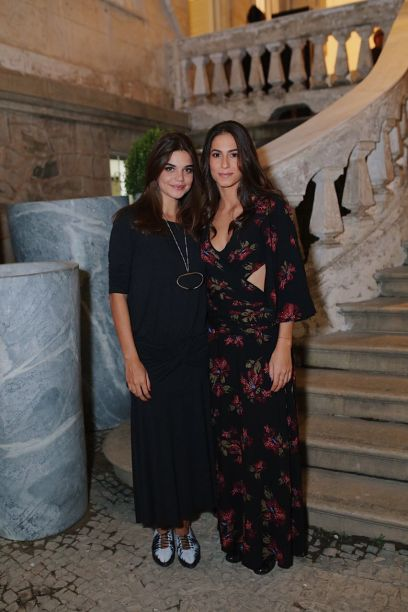 Luiza Ananaias e Flavia Generoso