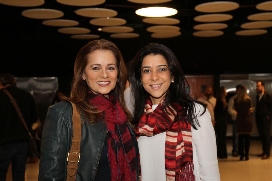 Mônica Pinto e Luciana Leal