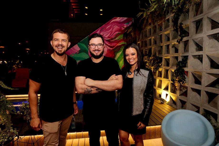 Vini Dalla Rosa, Xarão e Andressa Riquelme