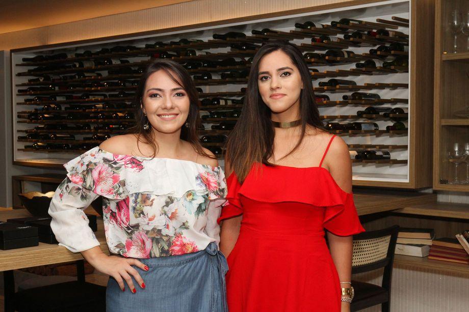 Ana Luiza Veloso e Amanda Saback