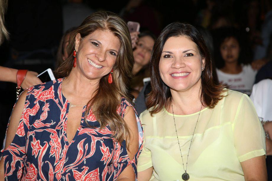 Angela Castilho e Juliane Vargas