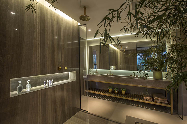 Banheiro de Carlos Rossi para Cbr 031 Empreendimentos Imobiliários Ltda - Vencedor da Etapa Nacional na categoria Construtora