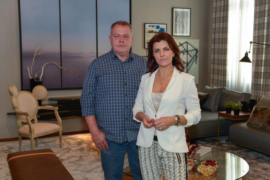 Arquitetos Alcides Theiss e Rosane Girardi, do ambiente Uma Sala para Todos.