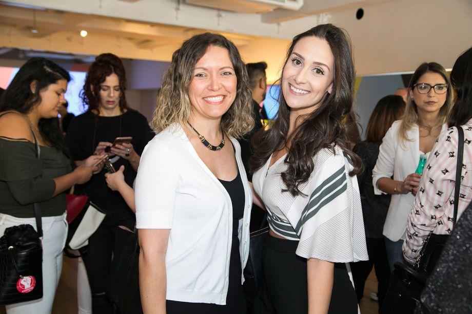 Elenice Cardoso e Ligia Nunes