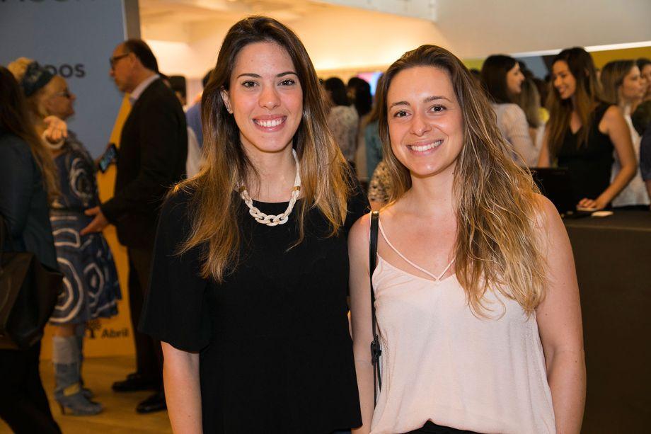 Fabi Silveira e Patricia de Palma