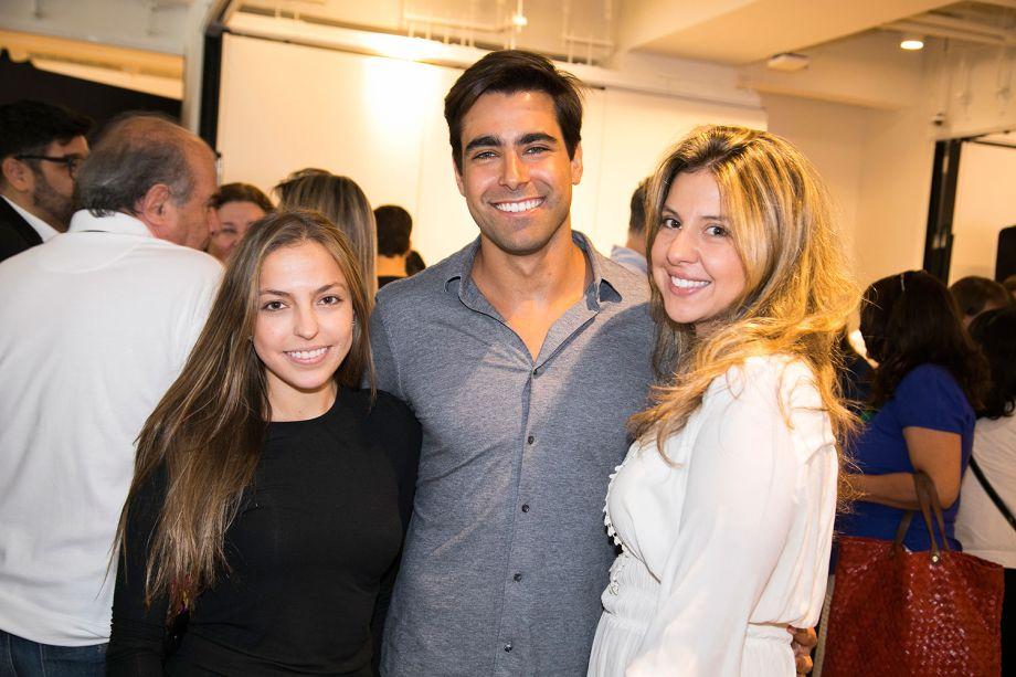 Bárbara Gomes, Alexandre Dal Fabbro e Bia Abreu