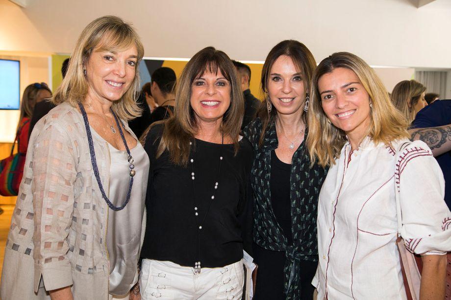 Anette Rivkind, Joia Bergamo, Esther Schattan e Flavia Pardini
