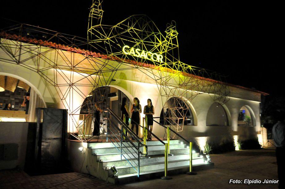Fachada pelos arquitetos Haroldo Maranhão e Nilberto Gomes