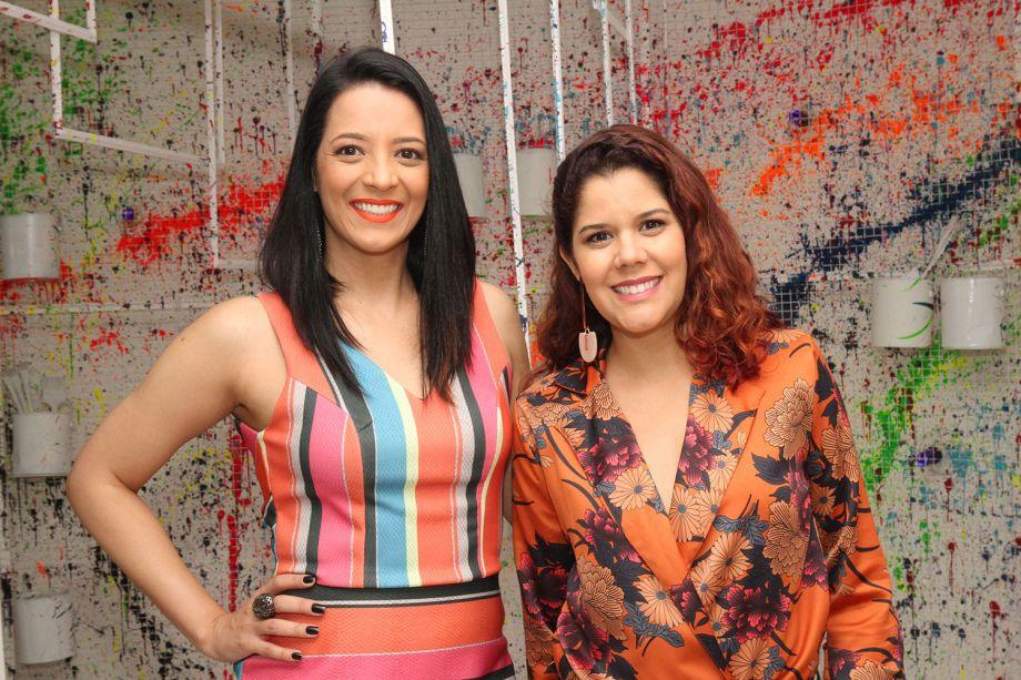 Flávia Amorim e Renata Melendez