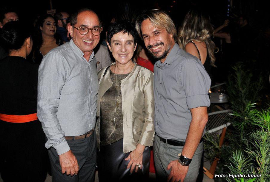 Cesar Revorêdo, Lívia Pedreira e Guga Fernandes