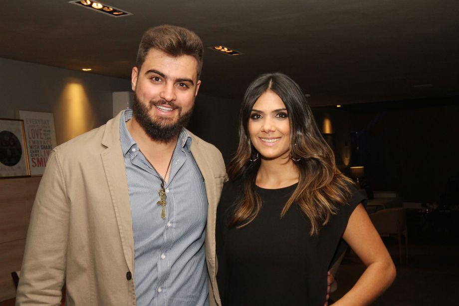 Guilherme Marques e Karina Rocha