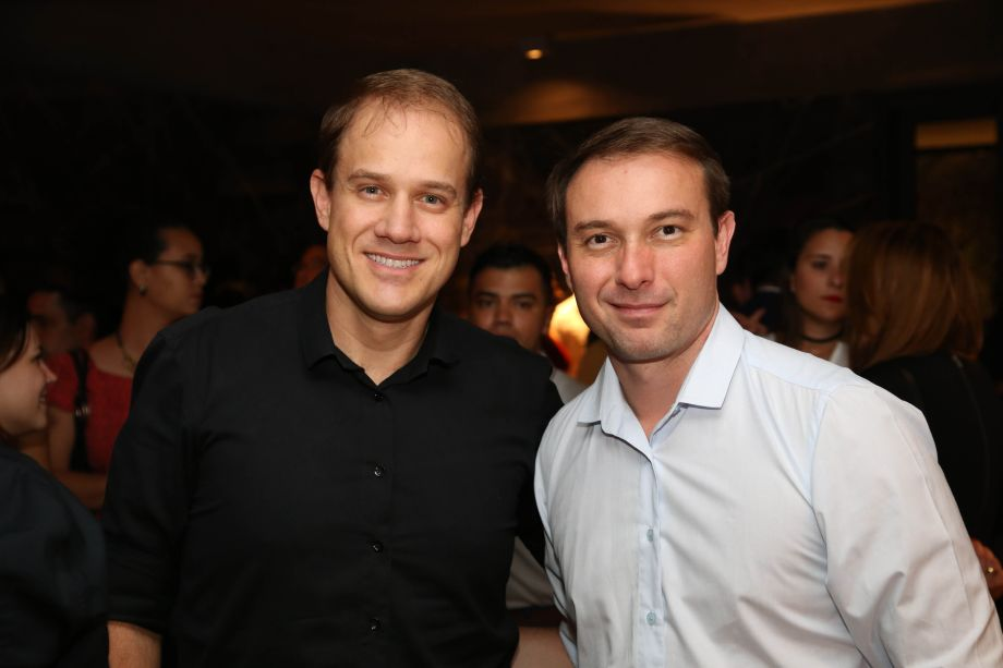 Gustavo Assunção e Sérgio Peres
