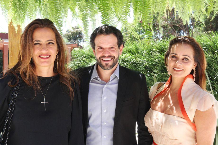 Isabel Veiga, Arnaldo Pinho e Mônica Pinto