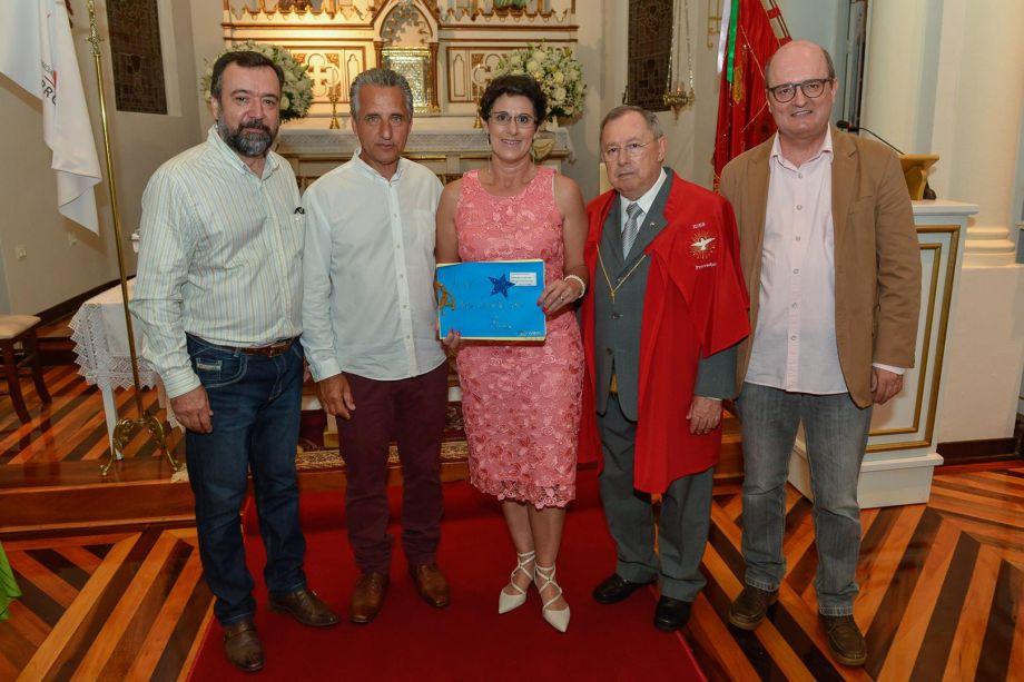 Jonas Silveira, Luiz e Francis Bernardo, o provedor da IDES Ademar Cirimbelli e Renato de Souza Marques.