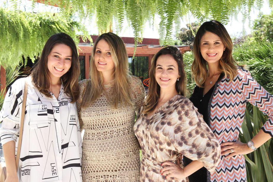 Mariana Aguiar, Laísa Gouveia, Renata Vieira e Juliana Dias