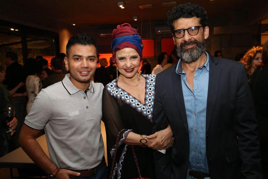 Raphaell Cruz, Moema Leão e Francisco Flávio