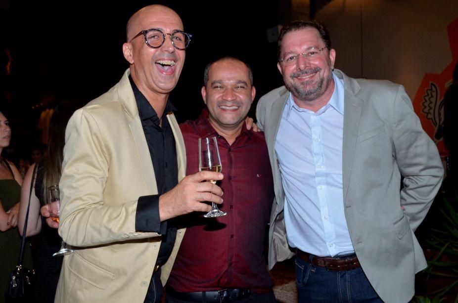 <span>André Rangel, Alessandro Silva e Elio Zamprogna.</span>