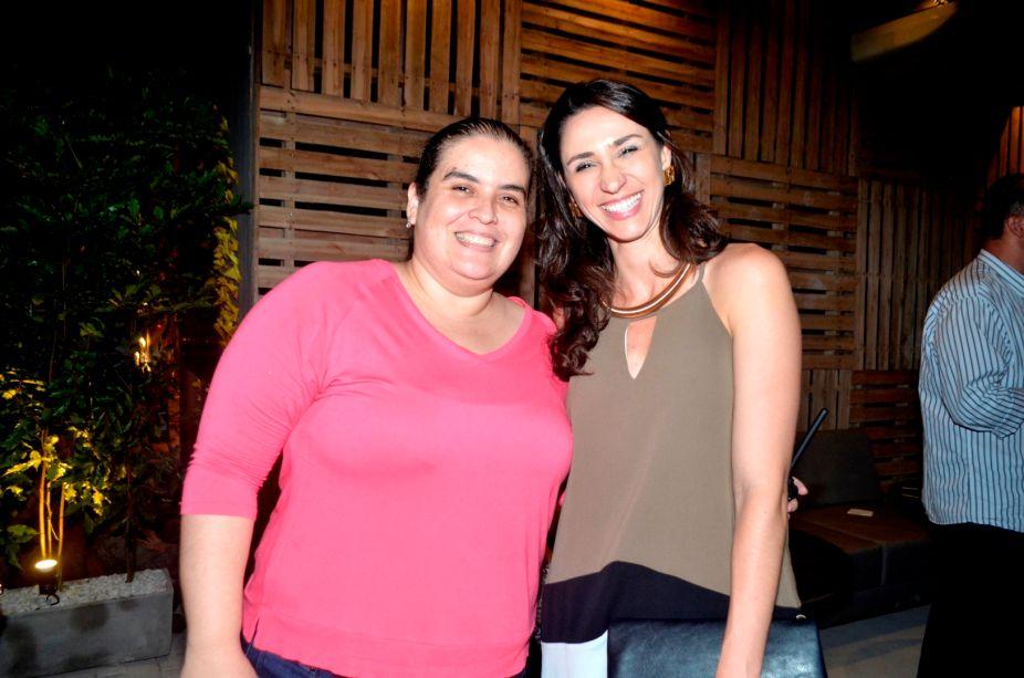 <span>Camila Correia e Graziela de Caroli.</span>