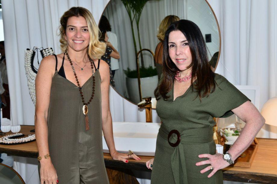 Flávia Pardini e Paola Ribeiro