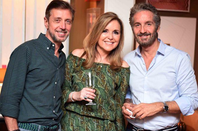 1. Nando Grabowsky, Eliane Couto e Pedro Guimares