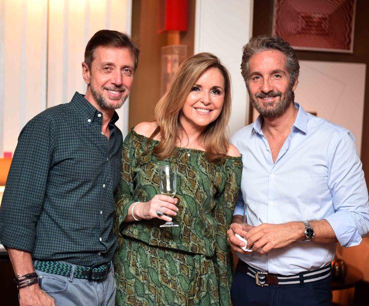Nando Grabowsky, Eliane Couto e Pedro Guimarães