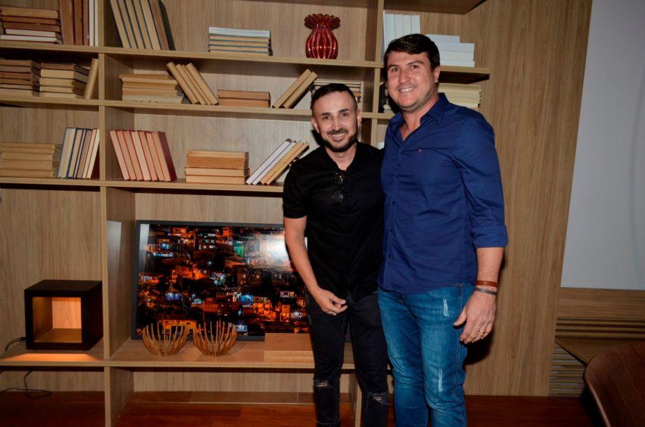 <span>O arquiteto Jadson Amorim e o fotógrafo Gustavo Pereira.</span>