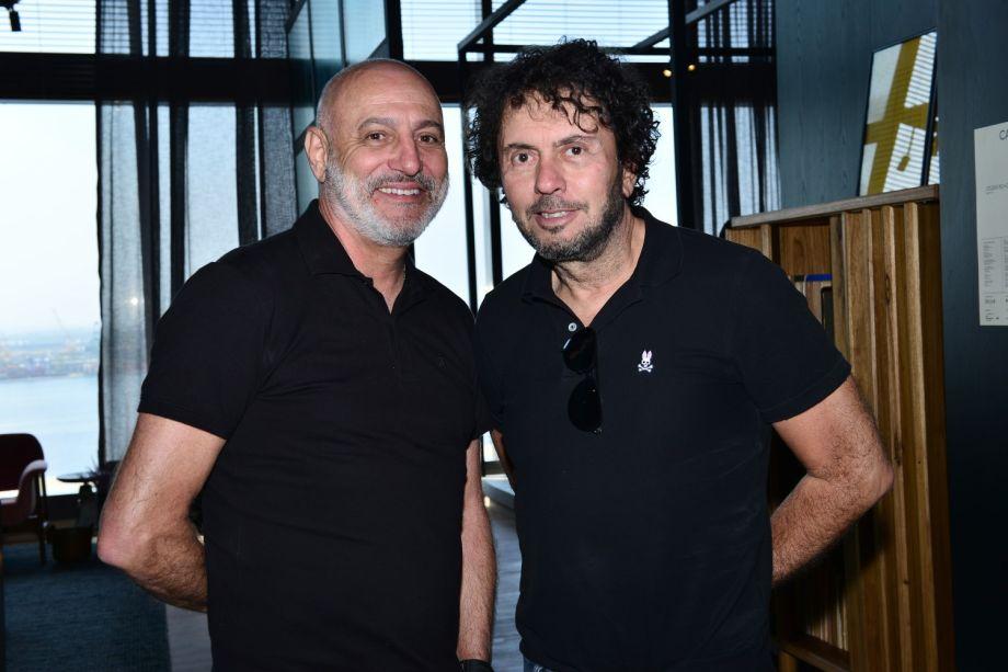Mário Celso Bernardes e João Armentano