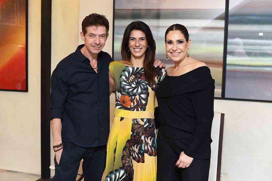 Andre Piva, Bia Pedrini e Vanessa Borges