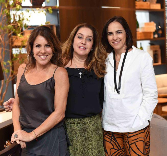 Andrea Neves, Duarte Anna Malta e Gisele Taranto